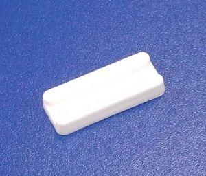 Zobrazit detail - Soklová podnož nastřelovací , bílá   balení=100 ks
