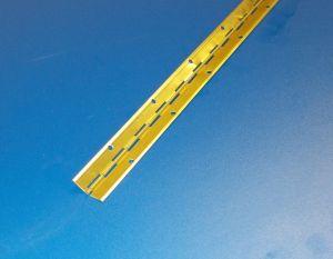 Tyčový závěs-klavírák ,mosaz , 1ks délka 3500mm