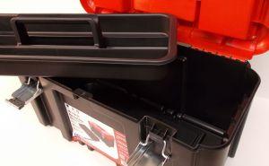 "Box na nářadí s organizérem, Gator 19"" , 48x23x25 cm"