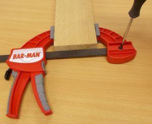 Jednoruční svěrka Bar-Man, délka 60 cm
