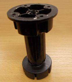 Nožka soklová rektifikační VOLPATO,černá  100 mm