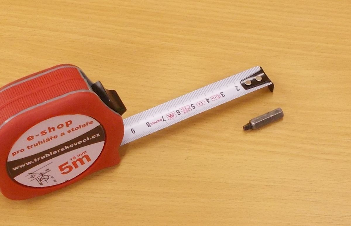 Bit Uniquadrex č. 3, délka 25 mm, pro vrut průměr 6 mm