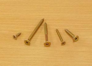 Vrut do dřeva se záp.hl. Uniquadrex zinek žlutý , 4x16 mm,bal=1000ks