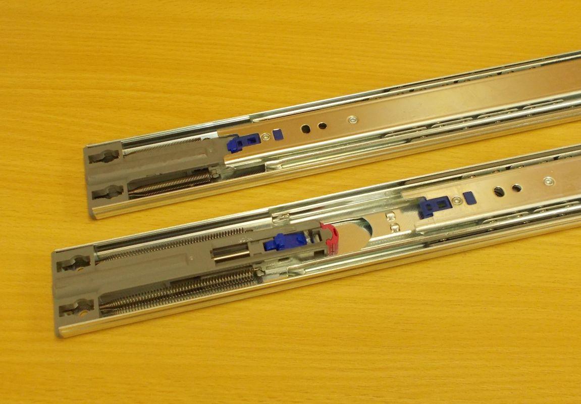 Kuličkový plnovýsuv s tlumením, značka STRONG, délka 500 mm,bal=1pár