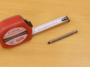 Bit Uniquadrex profi č. 0, délka 75 mm