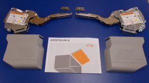 Blum Aventos HK-S ,komplet sada,šedé krytky, balení=1pár