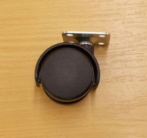 Kolečko pevné 40 mm, s plotničkou