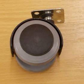 Kolečko PU pásek50 mm, s plotničkou