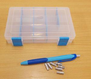 Krabička-organizer , transp. 168x115x35 mm