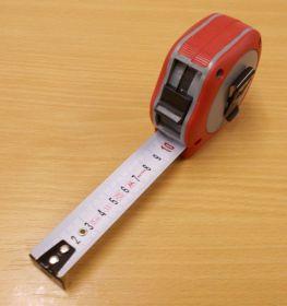 Metr Supra profi délka 5m,šířka pásky 25mm,certifikace přesosti EEC II