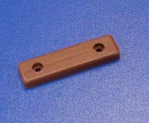 Nábytková soklová podnož 2 děrová , hnědý , balení=100 ks