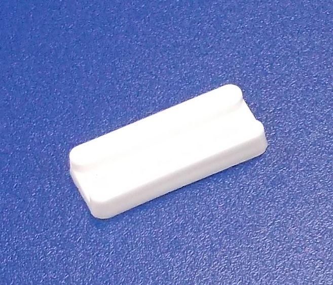 Nábytková soklová podnož nastřelovací , bílá , balení=100 ks