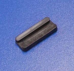 Soklová podnož nastřelovací , černá   balení=100 ks
