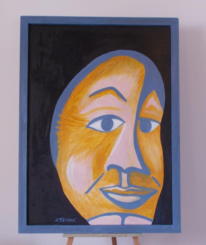 Obraz Tlučhuba 63x85 cm, akryl