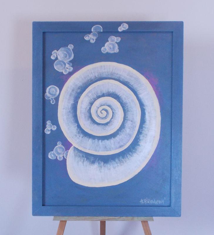 Obraz Ulita 2 45x58 cm, akryl