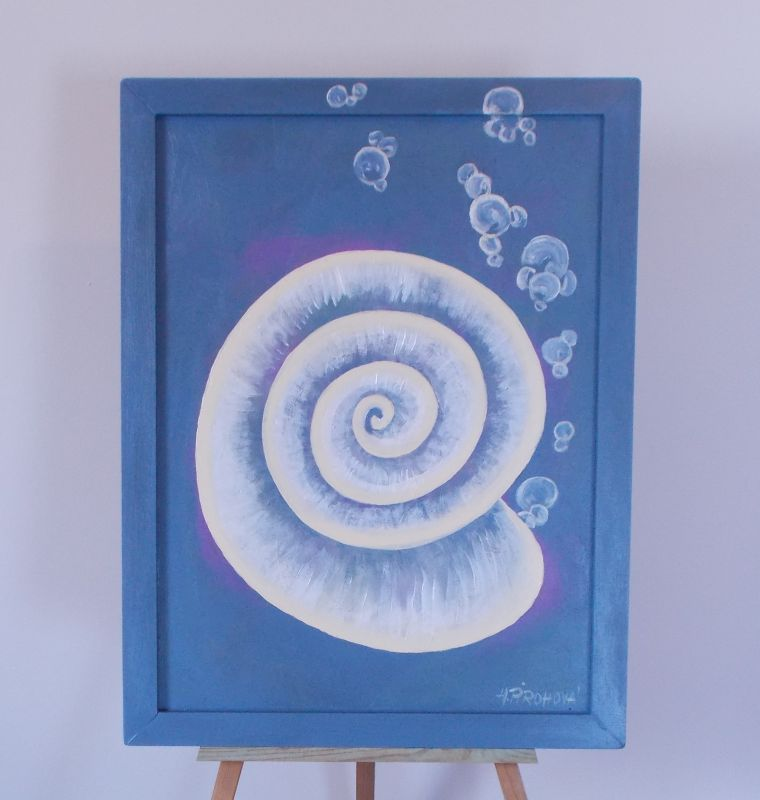 Obraz Ulita1 45x58 cm, akryl