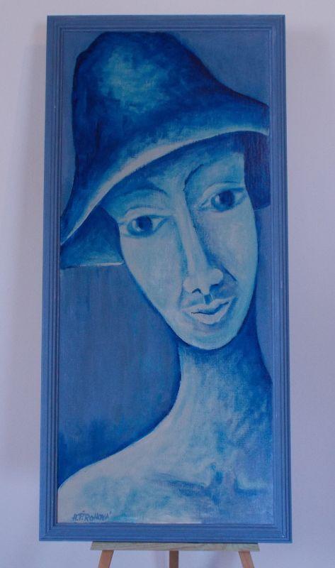 Obraz Vzpomínky 40x93 cm, akryl