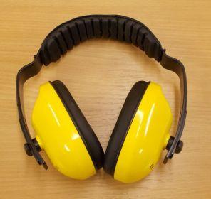 Ochranná sluchátka - žlutá