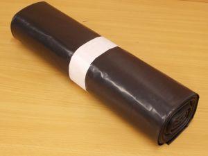PE pytle černé 70x110cm, 70 my, balení=role=20 ks