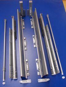 Sada innotech Atira 470 / 144 mm šedá s relingem