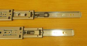 Kuličkový plnovýsuv s tlumením, značka STRONG, délka 600 mm,bal=1pár
