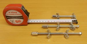 Svorník na kuchyňské desky 150 mm , bal=1ks