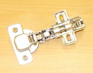 Závěs nábytkový STRONG Clip, naložený s tlumičem , 0 st., včetně patky