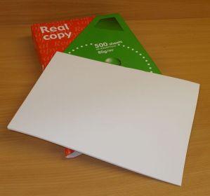 Kancelářský papír, Real copy,A4, 80g, bal=500ks