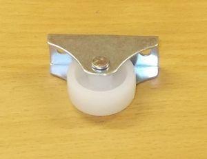 Kolečko pevné 26 mm - bílé