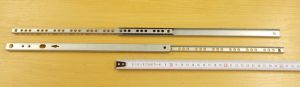 Kuličkový mikrovýsuv, minivýsuv - délka 310 mm - balení=1pár