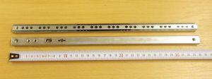 Kuličkový mikrovýsuv, minivýsuv - délka 340 mm - balení=1pár