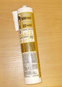 Lepidlo MAMUT Glue - bílý ,výrobce Den Braven, kartuš 290ml