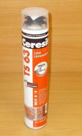 Montážní pěna nízkoexpanzní , ceresit TS 63 , 750ml
