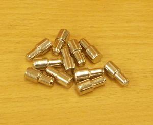 Policové podpěrky 7/5 x16 mm, NIKL, bal=1000ks