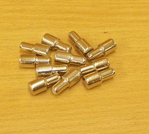 Policové podpěrky 7/5 x 16 mm, NIKL, bal=1000ks
