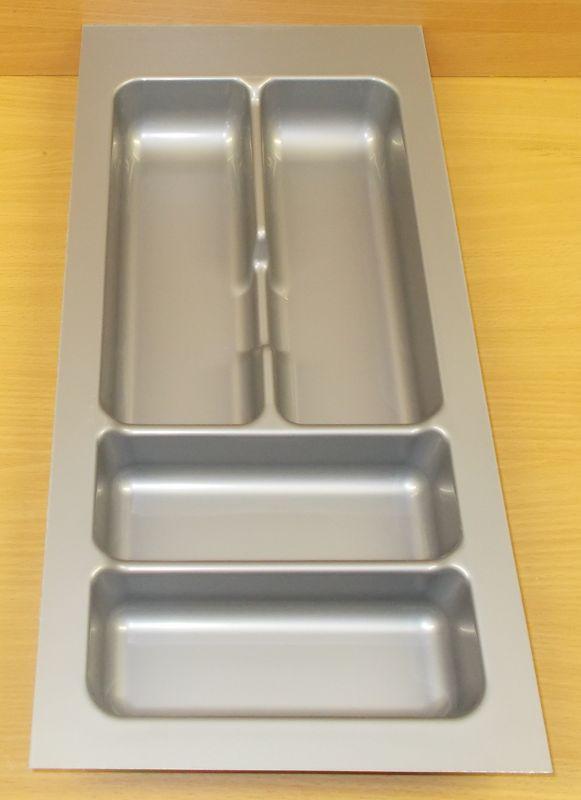 příborník 30 rovný , šedá metalíza, rozměr 235x490mm