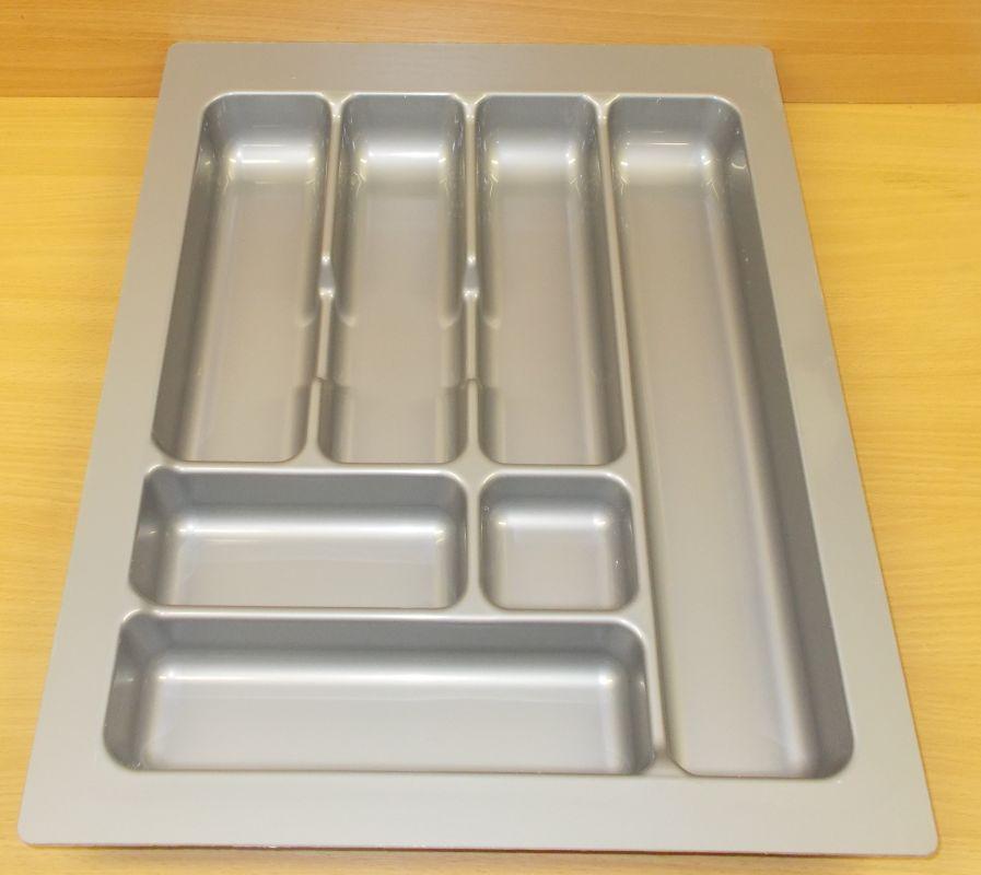 příborník 45 rovný , šedá metalíza, rozměr 385x490mm