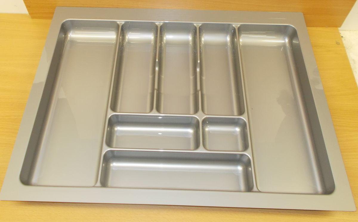 příborník 70 rovný , šedá metalíza, rozměr 635x490mm