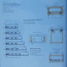 Skrytý plnovýsuv strong RIDE,pro dřevěnou zásuvku ,délka 300mm,balení=1pár