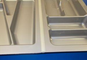 spojovací lišta na plastové příborníky - délka 59cm