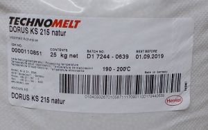 Tavné lepidlo Dorus-technomelt KS 215 ,barva natur, balení=pytel 25kg