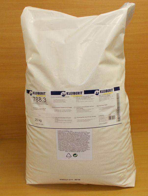 Tavné lepidlo Kleiberit 788.3 / 20 SK , barva slonová kost/natur, balení = pytel 25kg
