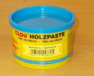 Tmel na dřevo CLOU Holzpaste - barva borovice - 250 g