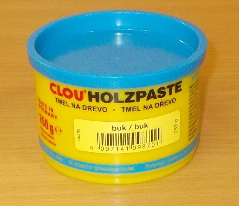 Tmel na dřevo CLOU Holzpaste - barva buk - 250 g