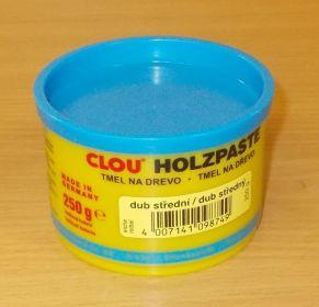 Tmel na dřevo CLOU - barva dub střední - 250 g