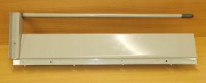 Plnovýsuv s tlumením STRONG BOX 140/450 mm - kompletní sada šedá