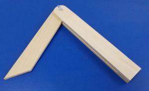 Dřevěný pokosník , 270 mm , 1 kus