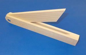 Dřevěný pokosník ,buk , 270 mm , 1 kus
