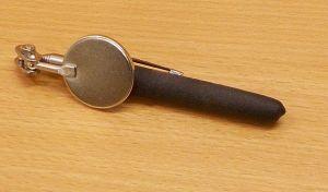 Inspekční zrcátko , teleskopické , balení = 1 kus