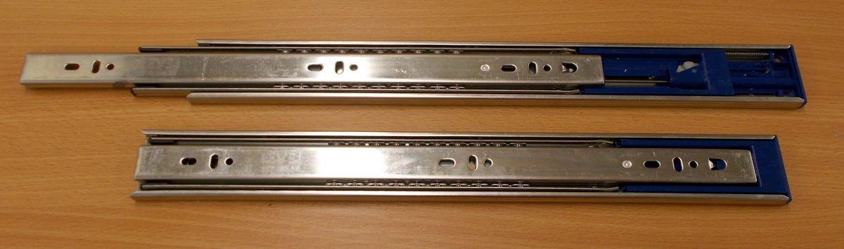Kuličkový plnovýsuv s tlumením,Zn-45mm ,zn.Level Slide, délka 400 mm